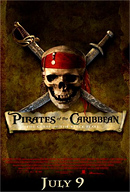 Pirates of the Caribbean: Curse of the Black Pearl Poster