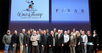 Disney and Pixar Press Conference