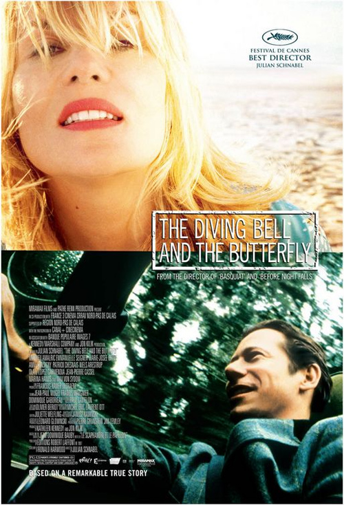 The Diving Bell and the Butterfly Poster