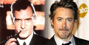 Rumor: Robert Downey Jr. to Play Hugh Hefner?