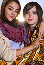 Ellen Page and Olivia Thirlby