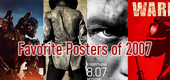 Alex's Top 10 Favorite Posters from 2007