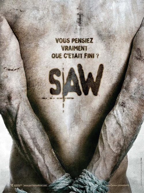 French Saw V Poster
