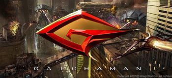 Gatchaman Concept Art