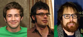 Michael Angarano, Jemaine Clement, Sam Rockwell