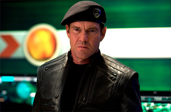 Dennis Quaid as General Hawk