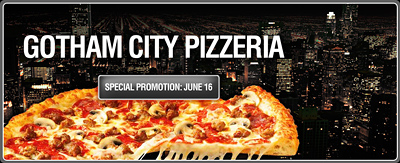 Gotham City Pizzeria
