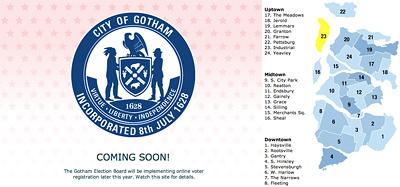 Gotham Election Board