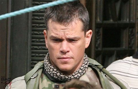 Matt Damon in Green Zone