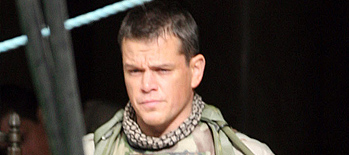 First Look: Matt Damon in Paul Greengrass' Green Zone!