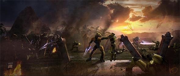 Halo: Fall of Reach Concept Art