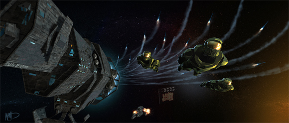 Halo: Fall of Reach Concept Art