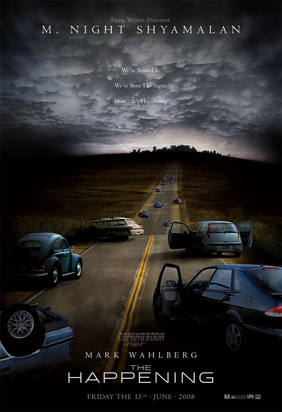 M. Night Shyamalan's The Happening Poster