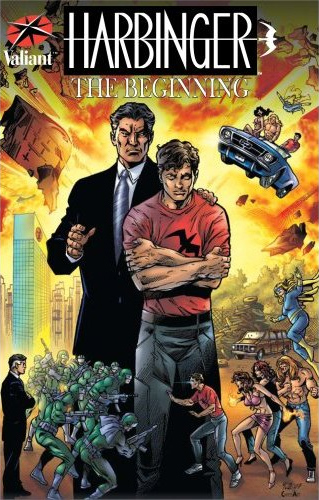 Harbinger Comic Books