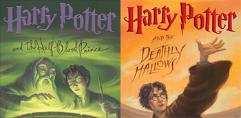 Harry Potter Books 6 and 7