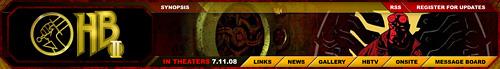 Hellboy II Website
