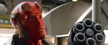 First Look: Hellboy and His BFG!