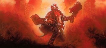Drew Struzan's Hellboy II: The Golden Army Poster!