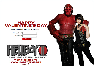 Hellboy II: The Golden Army e-card