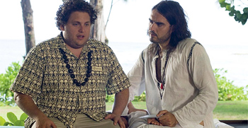 Jonah Hill and Russell Brand