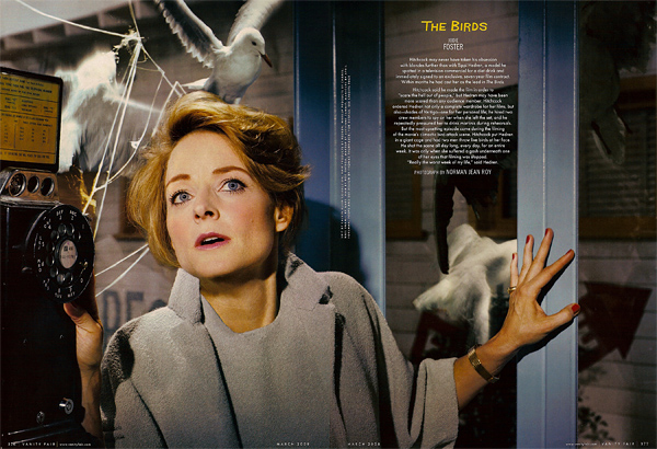 Jodie Foster in The Birds