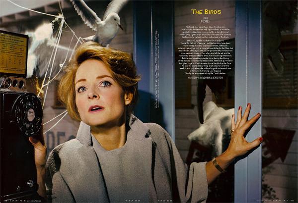 Jodie Foster in The Birds