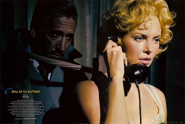 Cool Stuff : Vanity Fair's Hitchcock Classics Photo Spreads