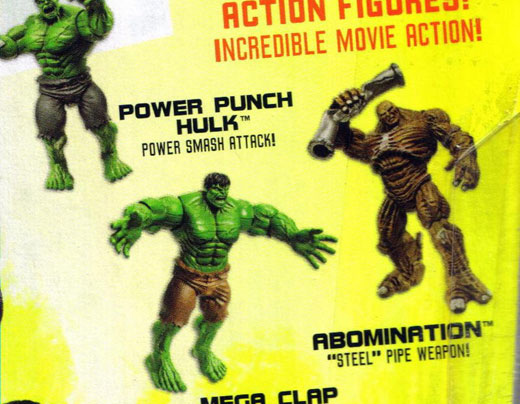 The Abomination in The Incredible Hulk