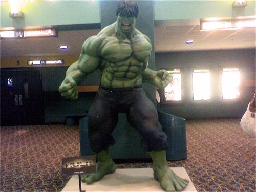 Giant Hulk Statue