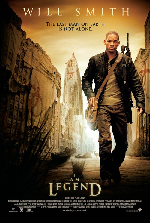 I Am Legend Will Smith Will Smith on I Am Leg...