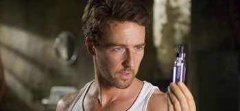 First Look: Edward Norton as The Incredible Hulk!