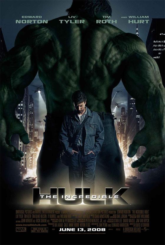 The Incredible Hulk Poster