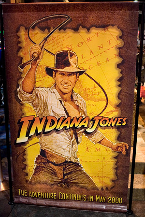Indiana Jones IV at Comic-Con