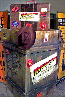Indiana Jones and the Kingdom of the Crystal Skull Theater Display