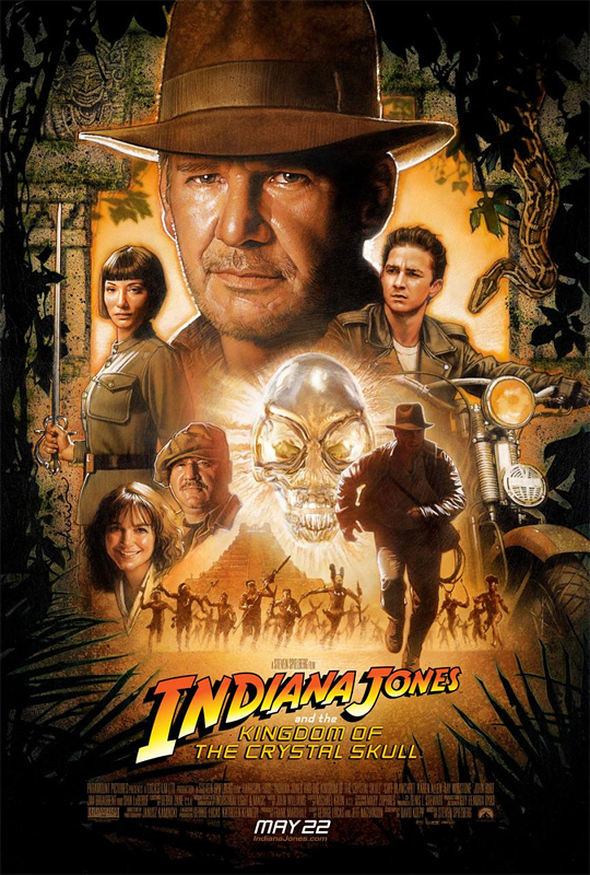 Indiana Jones and the temple of Alien Bling Bling.