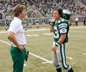 Invincible: Mark Wahlberg and Greg Kinnear