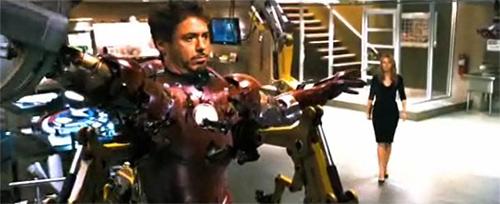 Captain America Shield in Iron Man