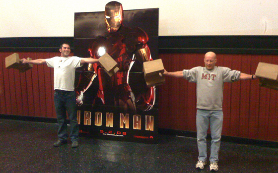 FirstShowing.net Iron Man Event