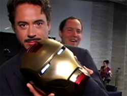 Iron Man set visit