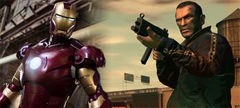 Iron Man vs GTA IV