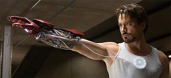 Photo Set: Tony Stark Builds the Iron Man Armor