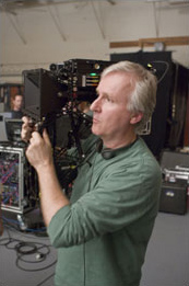 James Cameron Shooting Avatar