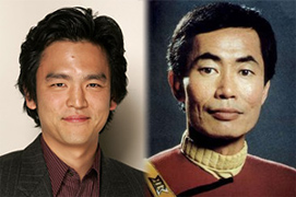 John Cho as Sulu in Star Trek