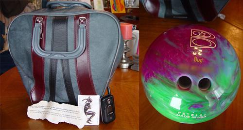 Joker Bag and Bowling Ball