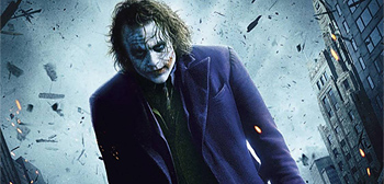 The Dark Knight's New Joker Banner