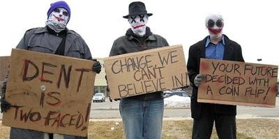 Joker Protesters