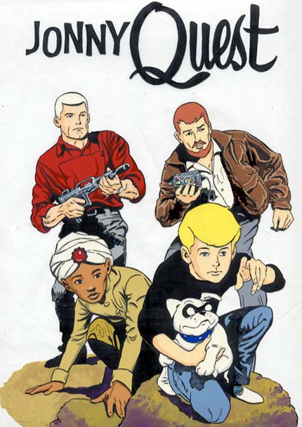 Cartoon Family Johnny Quest