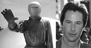 Keanu Reeves is Klaatu