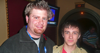 Ken Evans and Reece Thompson at SXSW