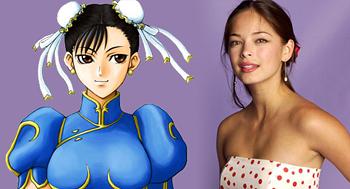 Kristin Kreuk Cast as Chun-Li in Street Fighter Movie